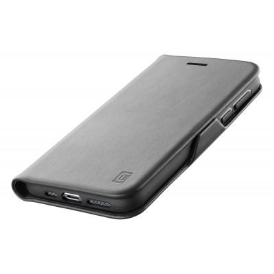 Samsung Galaxy S21 ultra housse book clutch noir Cellularline
