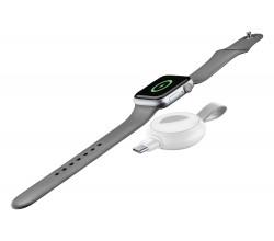 Power Pill draadloze magnetische Apple Watch lader wit Cellularline