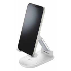 Table stand tafelstatief smartphone/tablet plooibaar wit