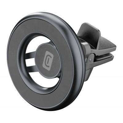 Autohouder MagSafe magnetisch ventilatierooster zwart  Cellularline