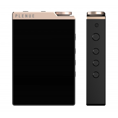 Plenue D3 hifi audio speler 64GB BT goud/zwart  Cowon