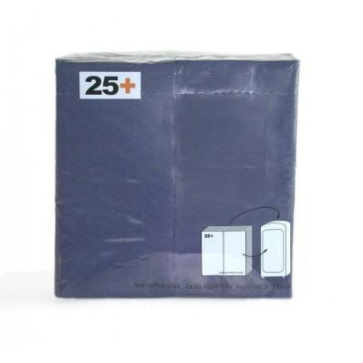 navulling servetten blauw 8x16cm