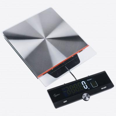 digitale keukenweegschaal met uitschuifbaar display 10kg