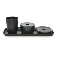 Bano Counter Set Black  Biobu by Ekobo