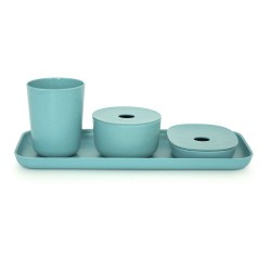 Bano Counter Set Lagoon  Biobu by Ekobo