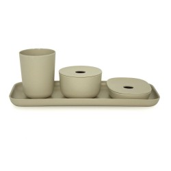 Bano Counter Set Stone  Biobu by Ekobo