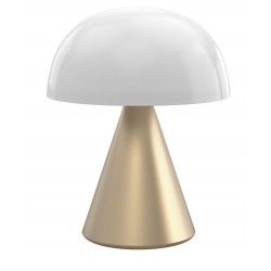 MINA L Grote draagbare LED-lamp Solt Gold  Lexon
