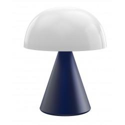 MINA L Grote draagbare LED-lamp Dark Blue  Lexon