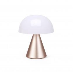MINA M Middelgrote draagbare LED-lamp Soft Gold  Lexon