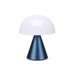 MINA M Middelgrote draagbare LED-lamp Dark Blue  Lexon