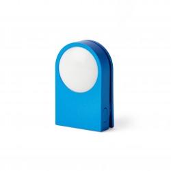 LUCIE Draagbare LED-clip Blauw  Lexon