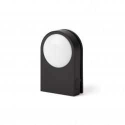LUCIE Draagbare LED-clip Zwart  Lexon