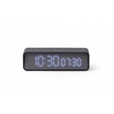 OSLO TIME LED Wekker Donkergrijs/grijs