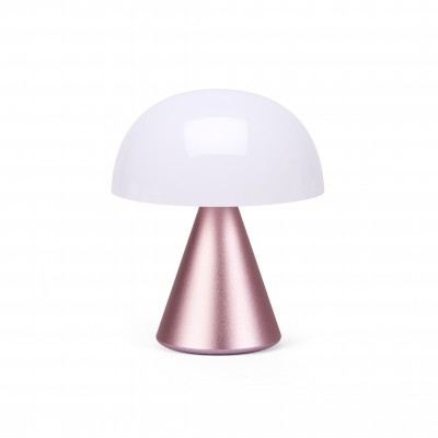 MINA M Middelgrote draagbare LED-lamp Roze  Lexon