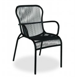LOOP DINING CHAIR BLACK