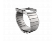 Blaze HR Accessory Band Metal Silver