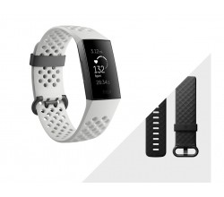 Activity tracker - Grafiet/Wit Silicoon Fitbit