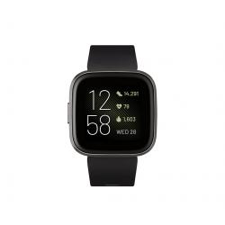 Versa2 FB507BKBK Watch Zwart/ Carbon Alu Fitbit
