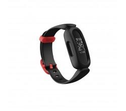 ace 3 zwart/racer rood Fitbit