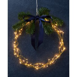 Kerstverlichting Knirkle Clear/Gold - 80 leds