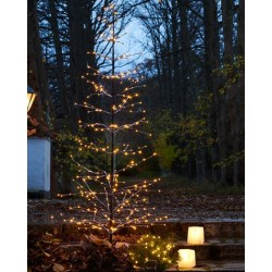 Kerstboom Isaac - H1,6m - 228 leds - in&out