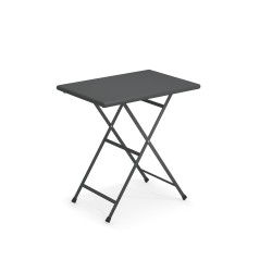 334 ARC EN CIEL TABLE 70X50 ANTIC IRON