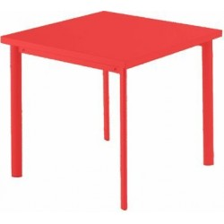 305 STAR TABLE 70X70 RED 3028