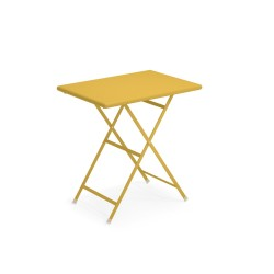 334 ARC EN CIEL TABLE 70X50 CURRY YELLOW