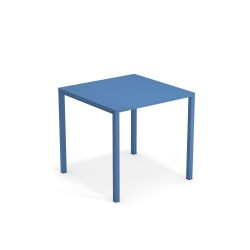 096 URBAN TABLE 80X80 MARINE BLUE