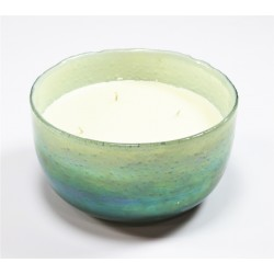 OMBRE BOWL GREEN WAXFILLED