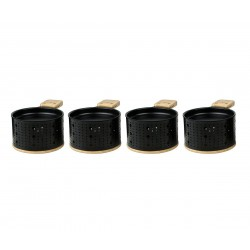 Lumi 4 individuele theelicht raclettesets 10x15x6.2cm