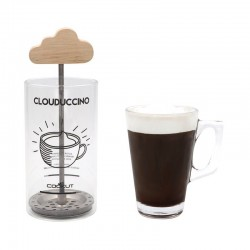 Clouduccino cappuccino melkopschuimer 7x7x18cm  Cookut