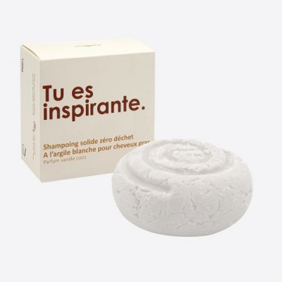 shampoo blok vanille kokos - zonder etherische oliën - 100g  Cookut