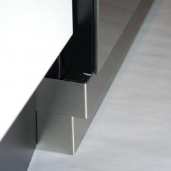 Verdiepingsplint 90x5 RVS  Belling