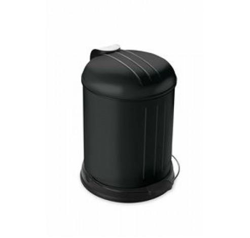 Pedaalemmer 5L mat zwart  Rixx