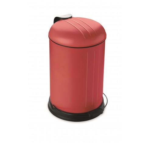 Pedaalemmer 12L mat rood  Rixx