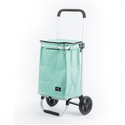 Shopping trolley ijsgroen 30L