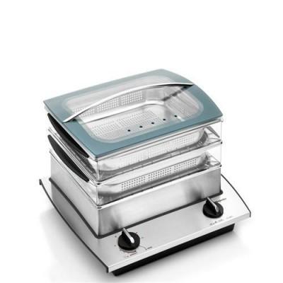 Nutri Steam cuiseur vapeur - 2 étages DeJelin
