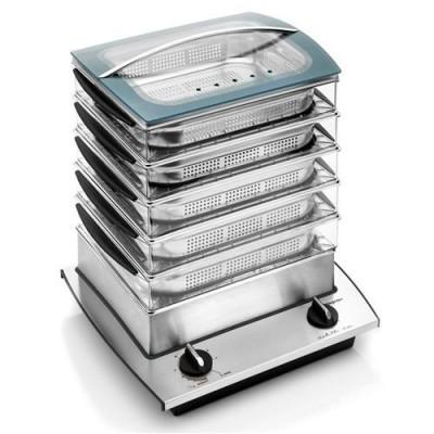 Bio Pur cuiseur à vapeur - 3 étages DeJelin