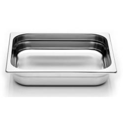 Bak inox bain-marie diepte 65 mm GN 1/2  DeJelin