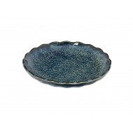 Cobalt Blue  9.9x2cm Mini Plate  YW-5587 12/288