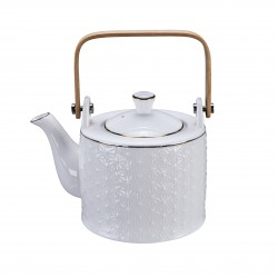 Nippon White Teapot 0.8L Star 1/12