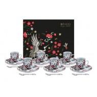 Mythical Crane Espresso Set 18pcs 16686 1/6