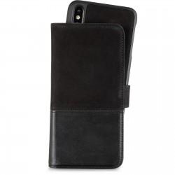 iPhone XS Max selected wallet magnetisch leder trönningenäs zwart Holdit