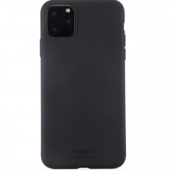 iPhone 11 Pro Max hoesje silicone zwart Holdit