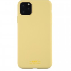 iPhone 11 Pro Max hoesje silicone geel