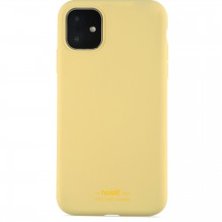 iPhone 11 hoesje silicone geel