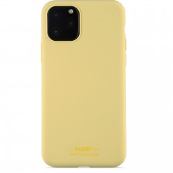iPhone 11 Pro hoesje silicone geel