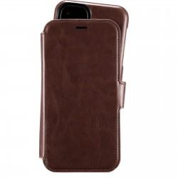 iPhone 11 wallet hoesje magnetisch berlin dark brown Holdit