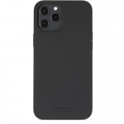 iPhone 12 Pro Max hoesje silicone zwart Holdit